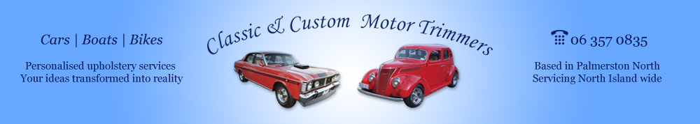 Classic & Custom Motor Trimmers Header image